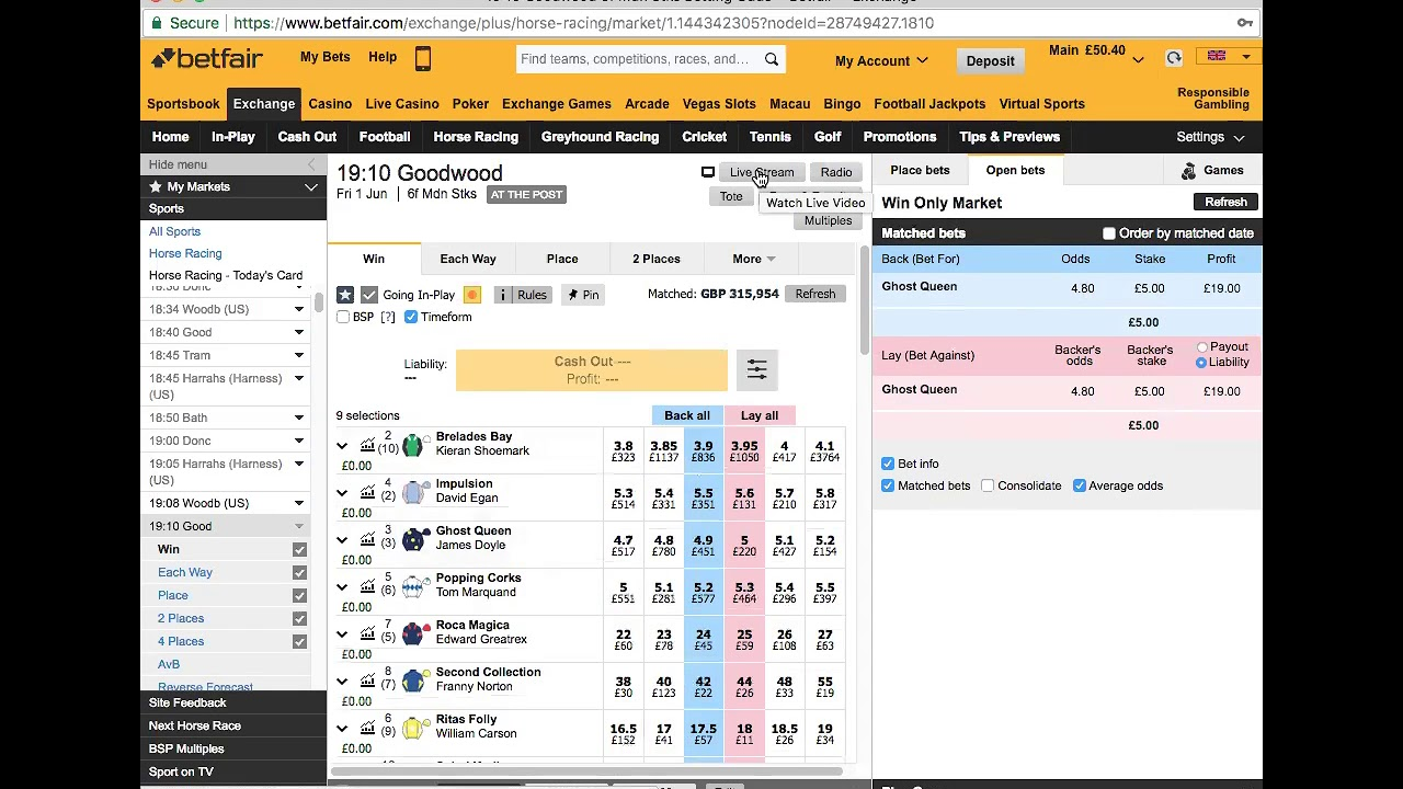 Best Betfair Trading Software