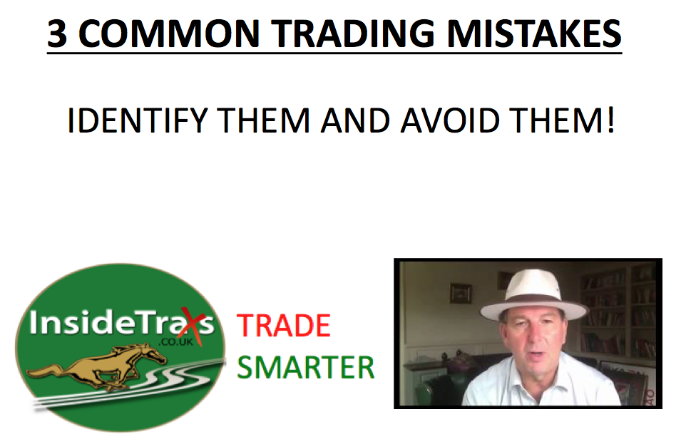 3 Common Trading Mistakes